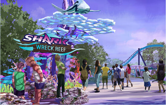 shark wreck reef seaworld