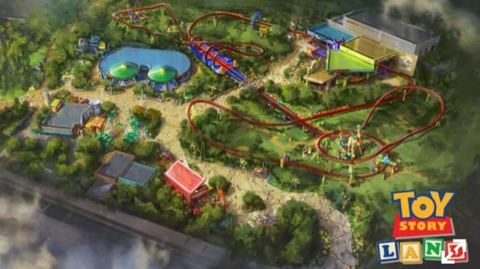 toy story land render