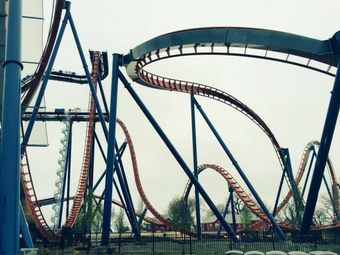 cedar point valravn track
