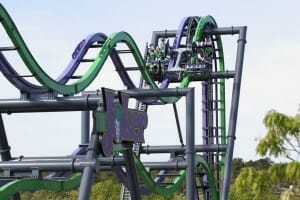 The Joker Roller Coaster Opens At Six Flags Great Adventure