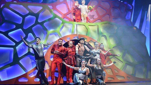 cirque imagine rehersal
