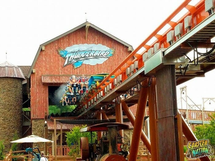 holiday world thunderbird launch
