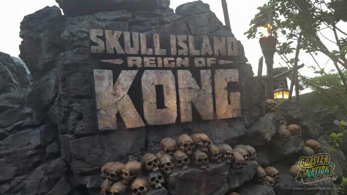kong entrance universal studios