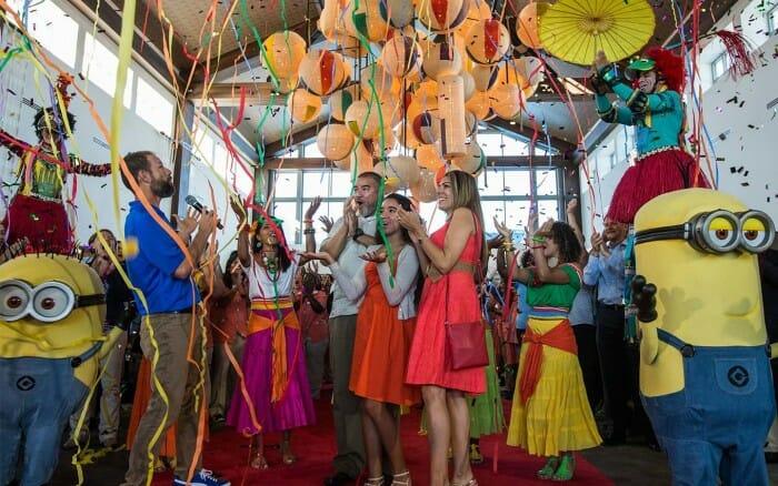 Loewes saphire falls opening celebration