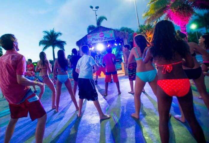 aquatica island nights party
