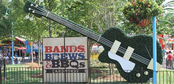 carowinds bands brews bbq