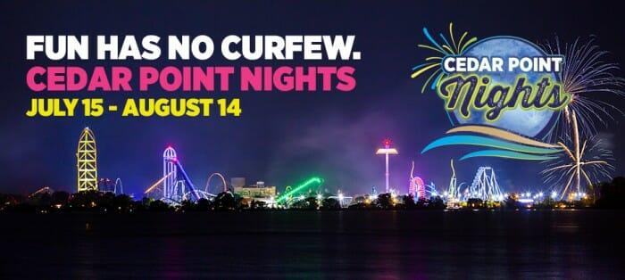 cedar point nights graphic