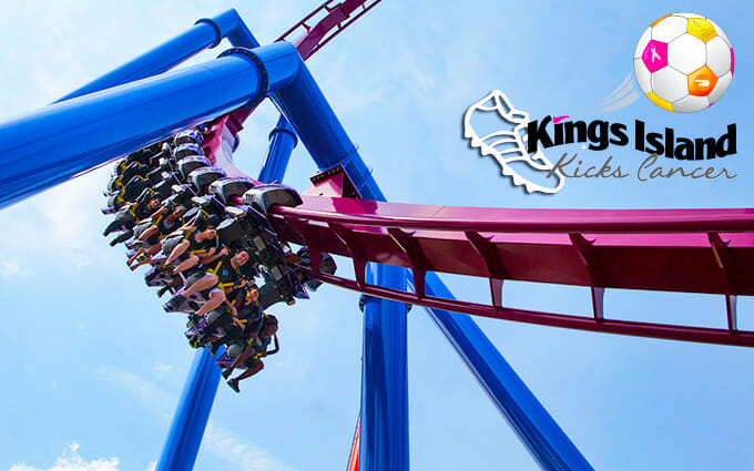 kings island kicks cancer banshee