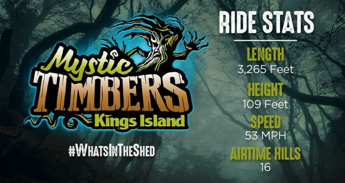 kings island mystic timbers stats