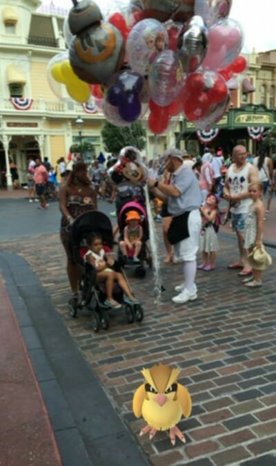 pokemon disney world magic kingdom