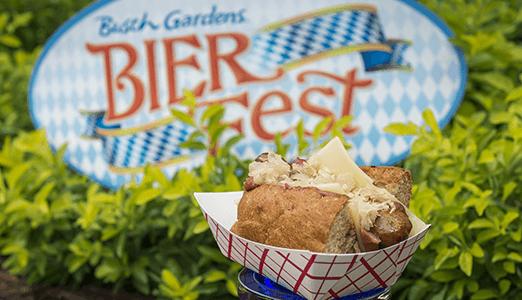 busch gardens bier fest food