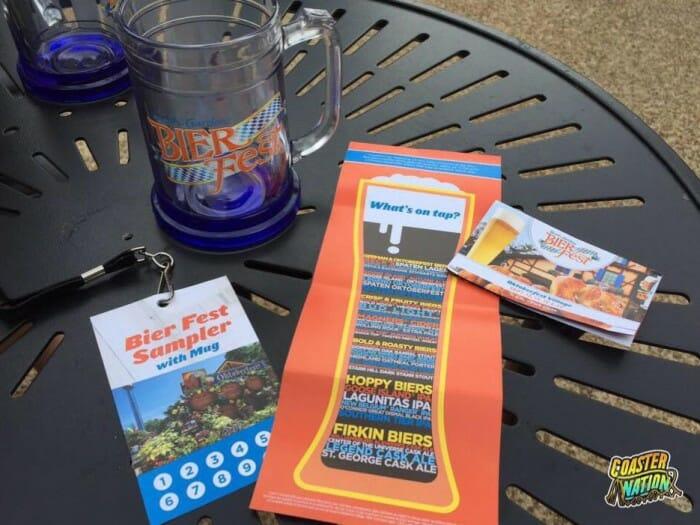 busch gardens bier fest sampler gifts