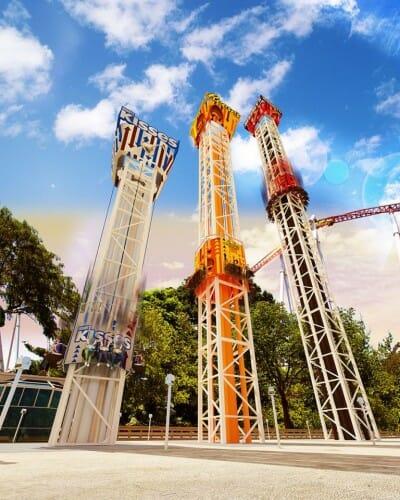 hersheypark triple tower