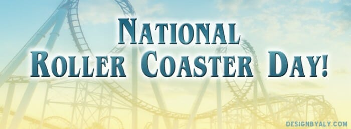 national roller coaster day design by aly