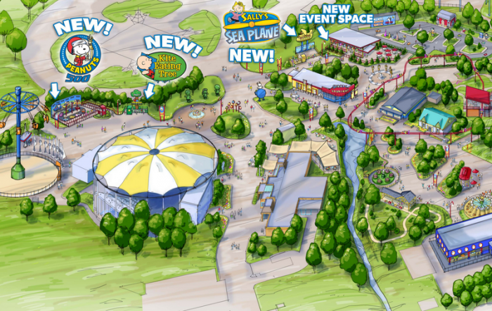 planet snoopy map