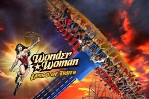 Six Flags Discovery Kingdom Unveils New Wonder Woman Ride For 2017