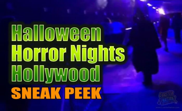Halloween Horror Nights 2016 Sneak Peek Video Tour At Universal Hollywood