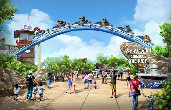 sea world san antonio new coaster art 2