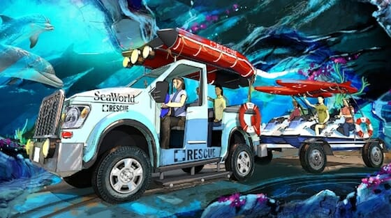 sea world san diego dark ride concept