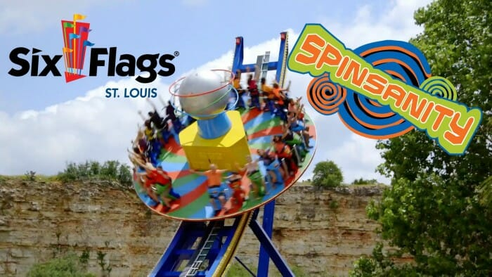 six flags spinsanity coaster nation