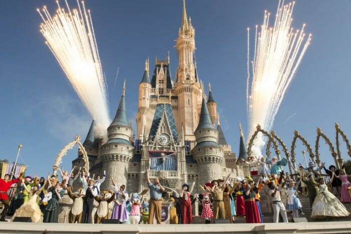 Walt Disney World Resort Celebrates 45th Anniversary to Colorful Fanfare!