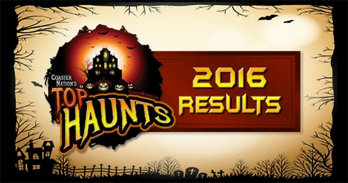 Top 31 Haunted Attractions 2016