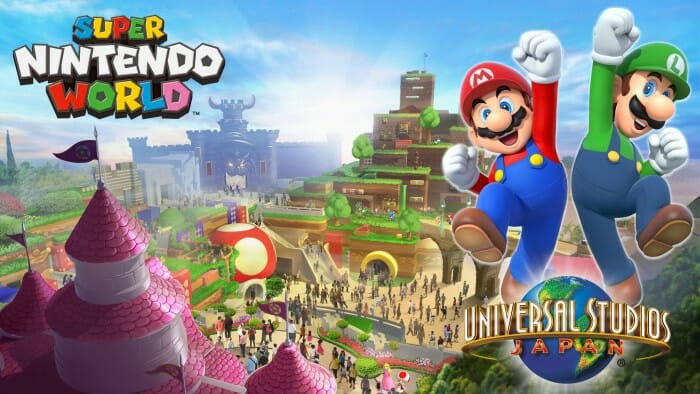 Super Nintendo World is Coming to Universal Studios
