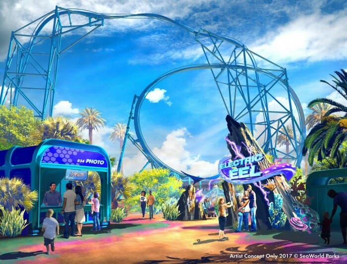 SeaWorld San Diego Announces New Coaster For 2018