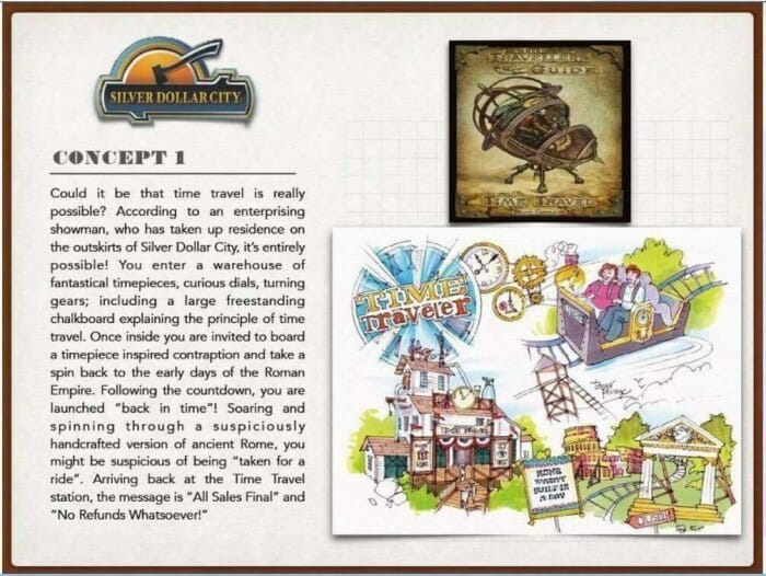 Silver Dollar City coaster concept 1