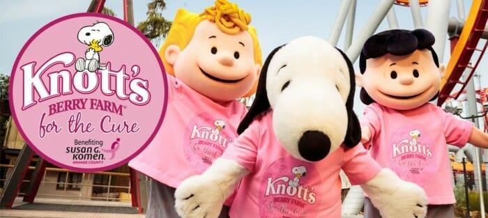 Knotts Berry Farm Teams Up With Susan G. Komen For Knotts Berry Farm For The Cure