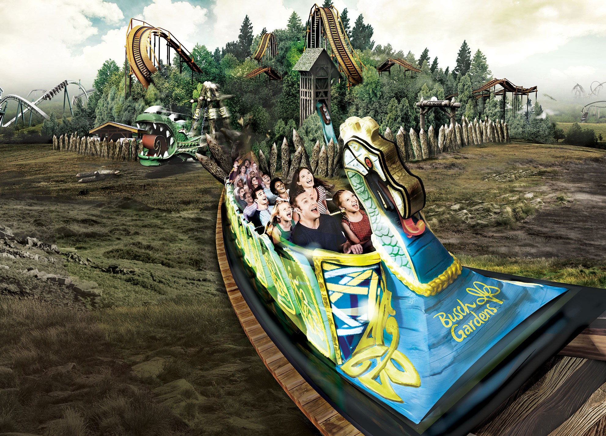 Action Packed Year Awaits At Busch Gardens Williamsburg