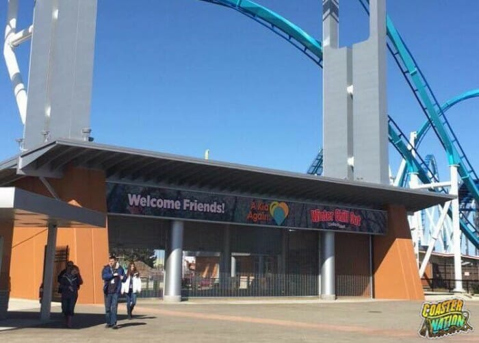 cedar point winter chill out main entrance