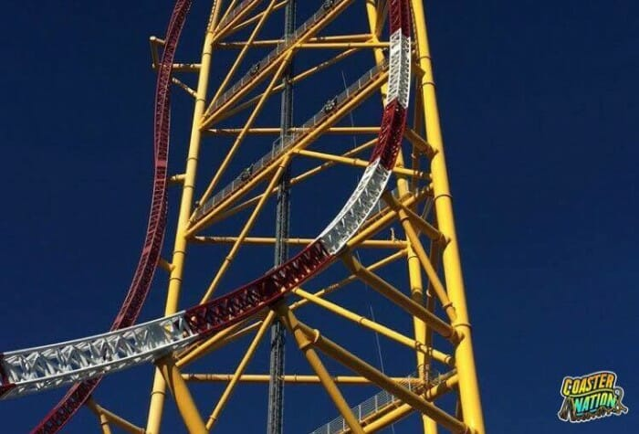 cedar point winter chill out top thrill dragster