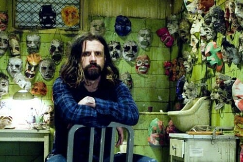 rob zombie on set halloween