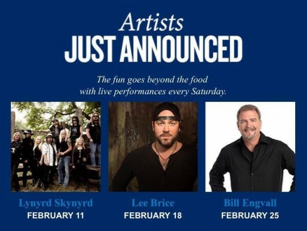 seaworld 2017 food festival artists