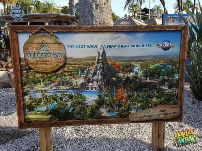 volcano-bay-waterpark-sign