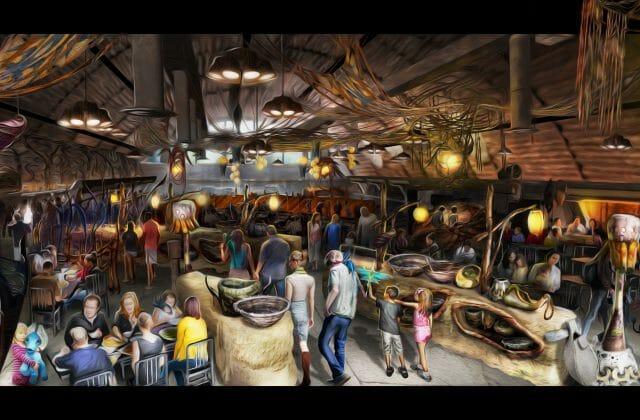 Disney avatar resturaunt