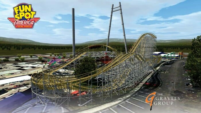 Fun-Spot-America-New-Mine-Blower-Roller-Coaster-2017