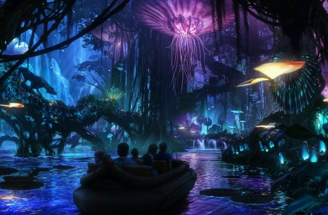 disney avatar boat ride