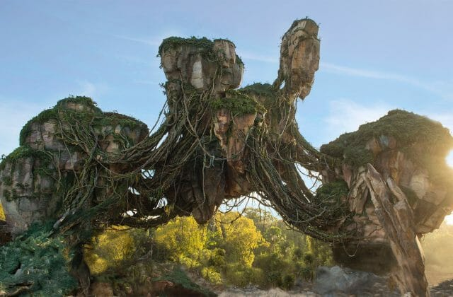disney avatar floating rock