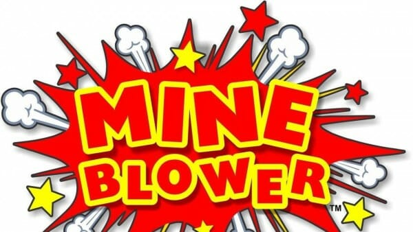 fun spot mine blower roller coaster logo