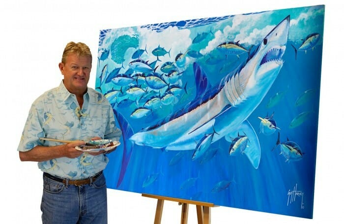 seaworld guy harvey painting