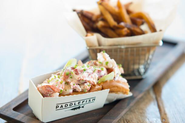 paddlefish disney springs food