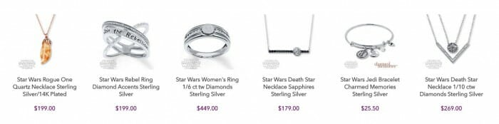 star wars jewerly