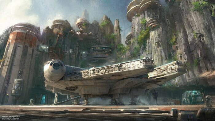 Disney's Star Wars Land Opening at Disneyland and Walt Disney World in 2019