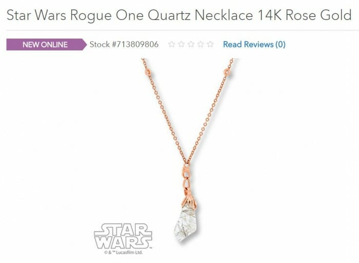 star wars necklace