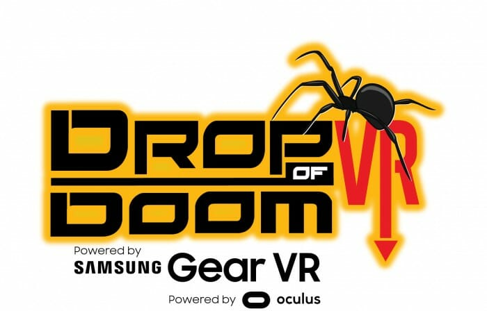 Drop of Doom VR Logo Color