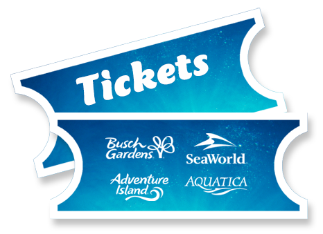 SeaWorld Busch Gardens Tickets