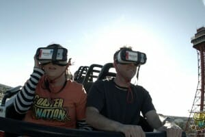 Six Flags Over Texas Combines Real World With VR On New Galactic Attack Coaster
