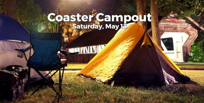 cedar point coaster campout promo image
